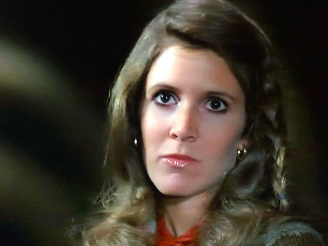 carrie fisher shocked