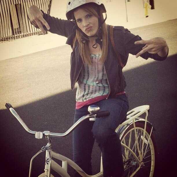 katie leclerc bicycle