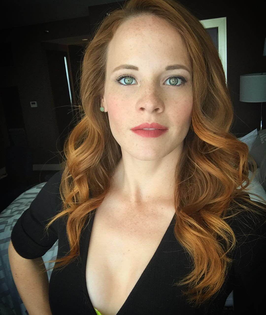 katie leclerc hot cleavage
