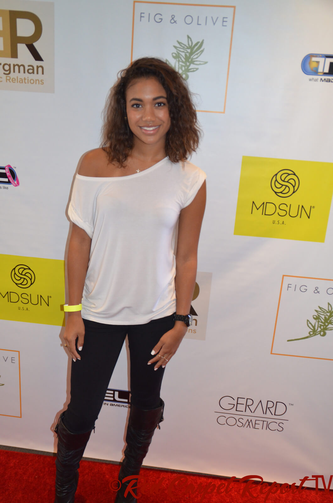 paige hurd red carpet