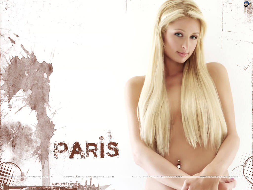 paris-hilton sexy topless