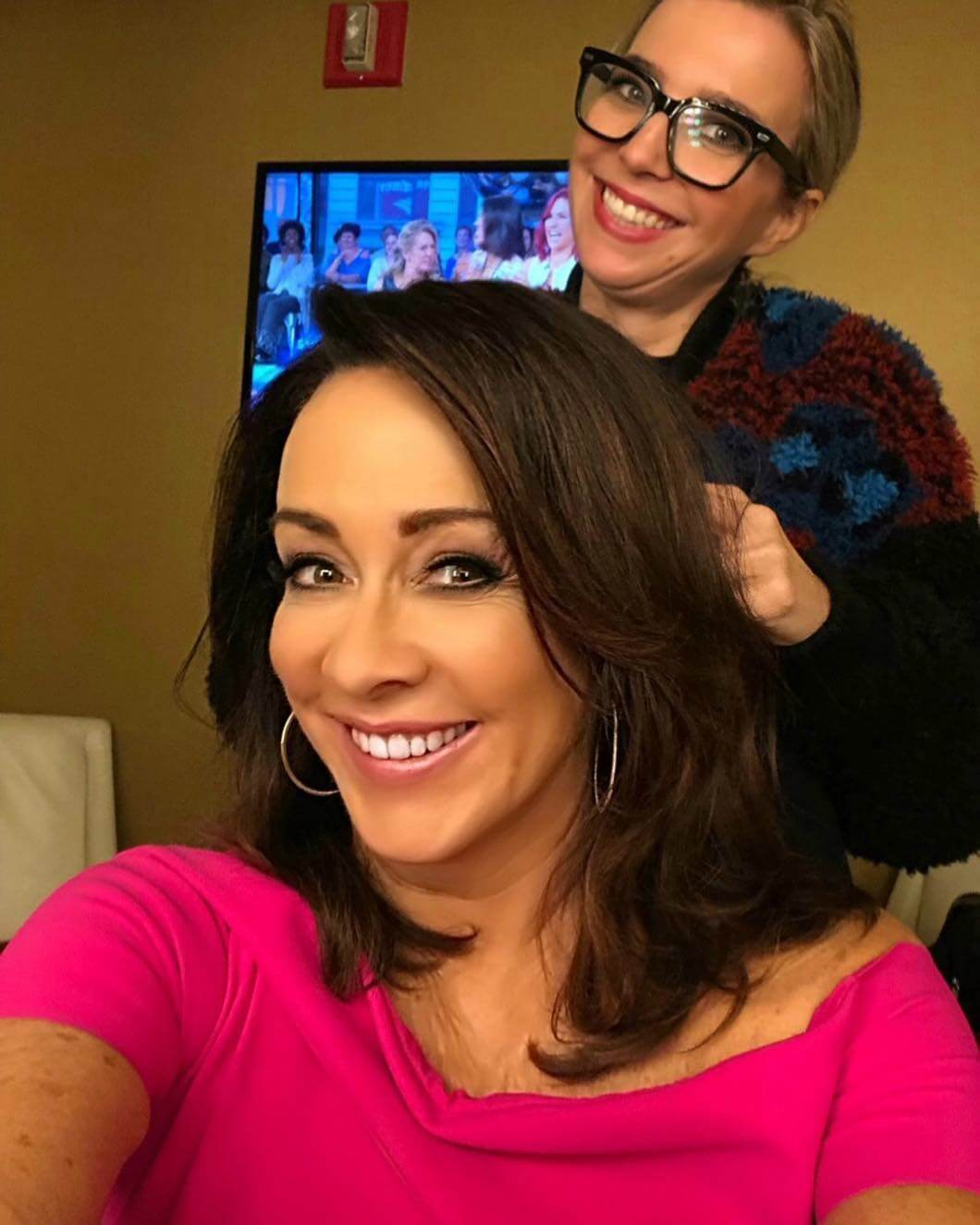 patricia heaton making hairstyle