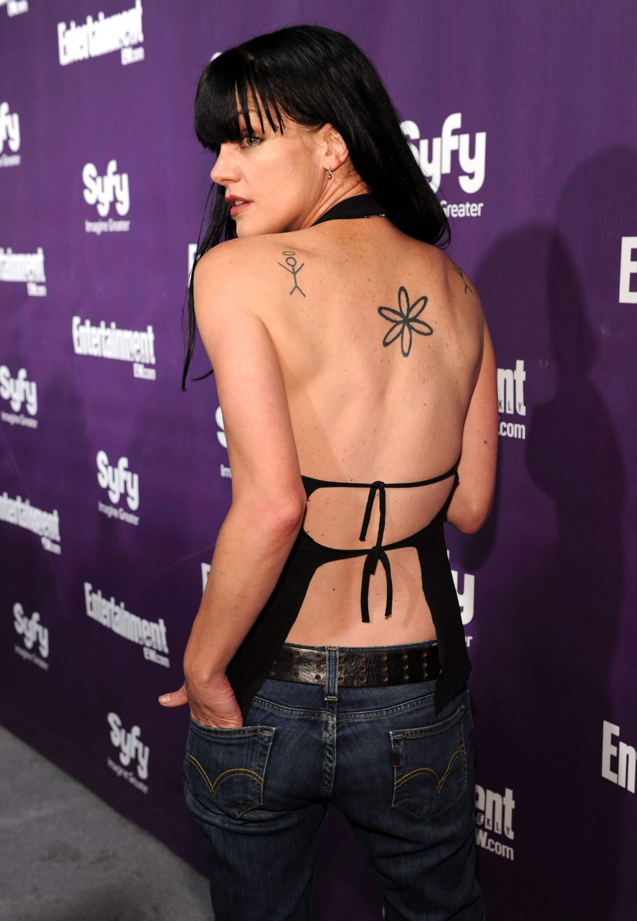 pauley perrette hot back