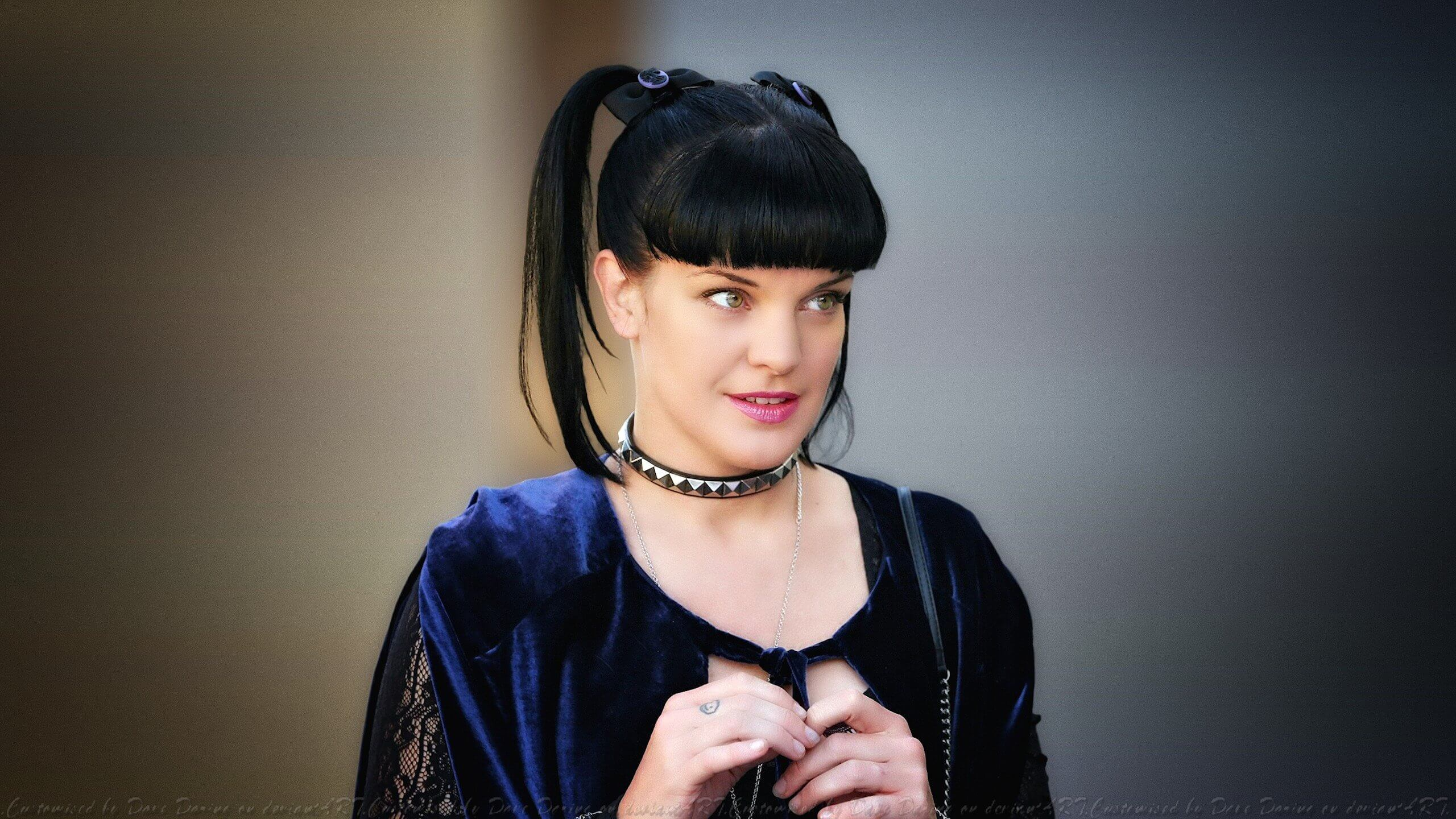 pauley perrette hot lips
