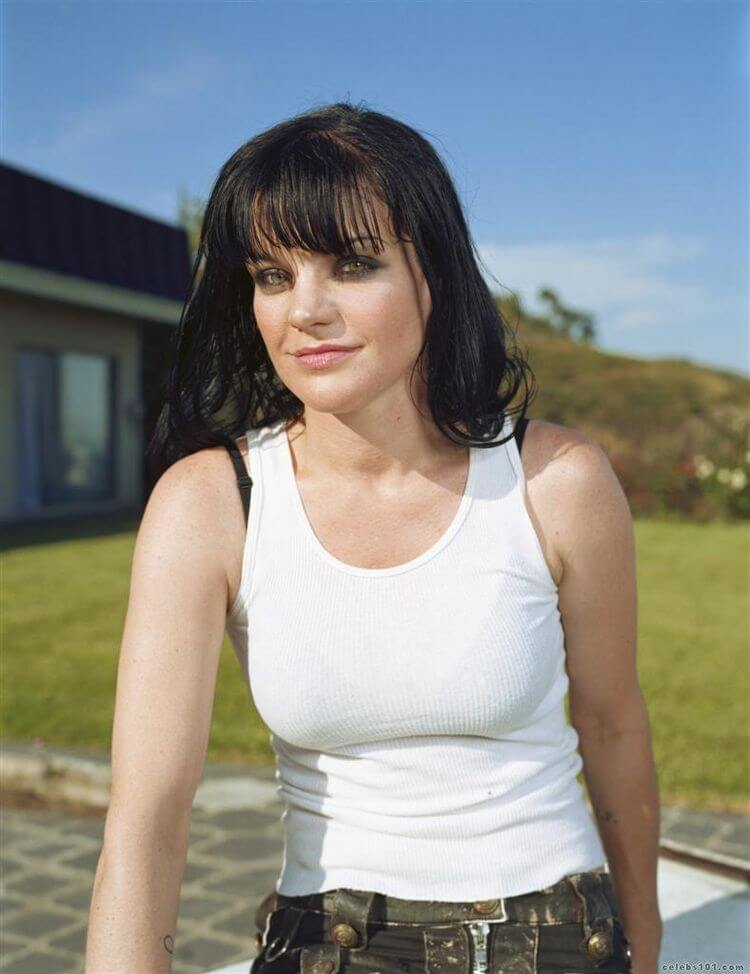pauley perrette long hair