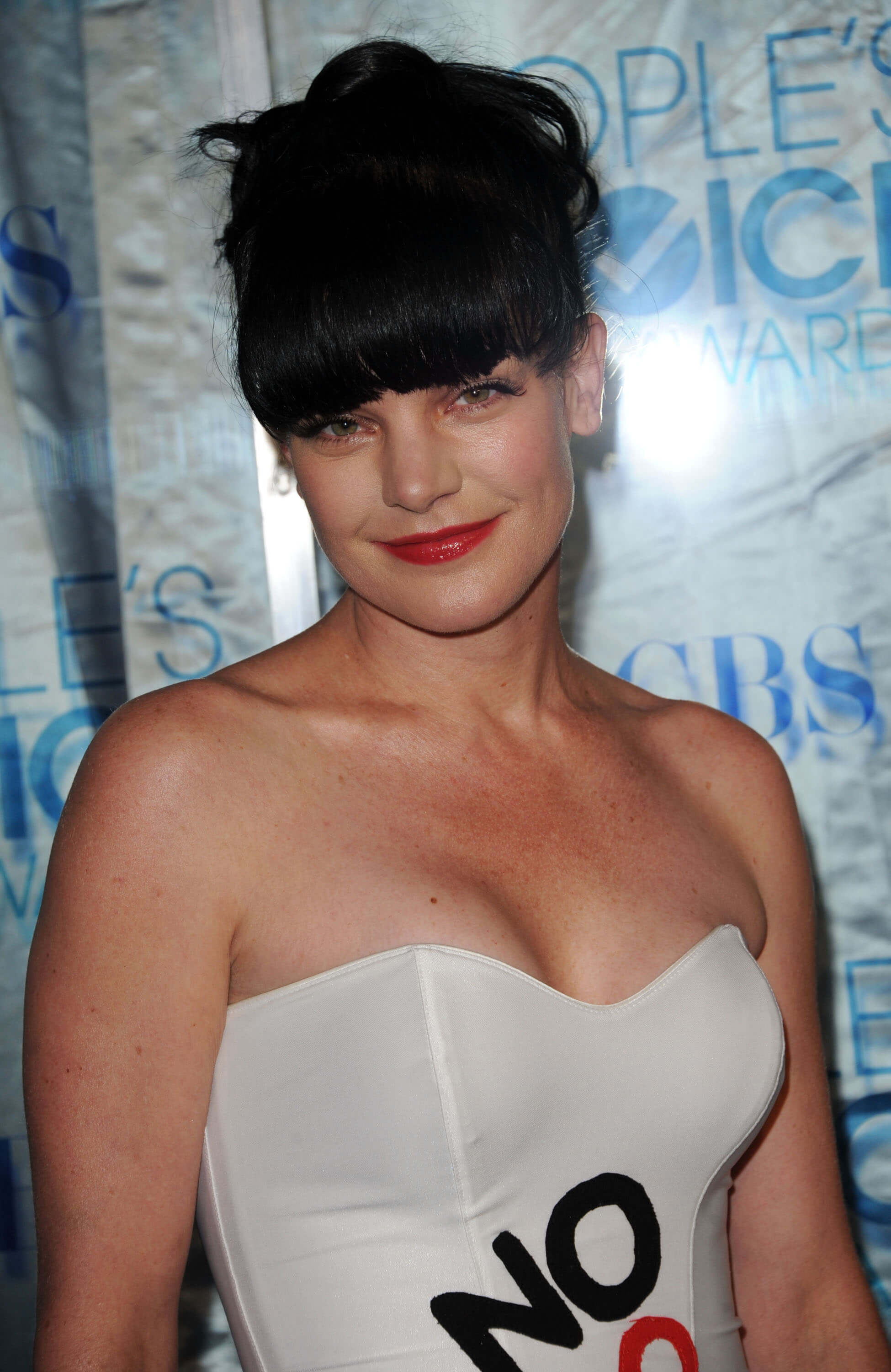 pauley perrette short hair