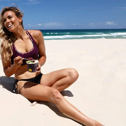 sally fitzgibbons eating