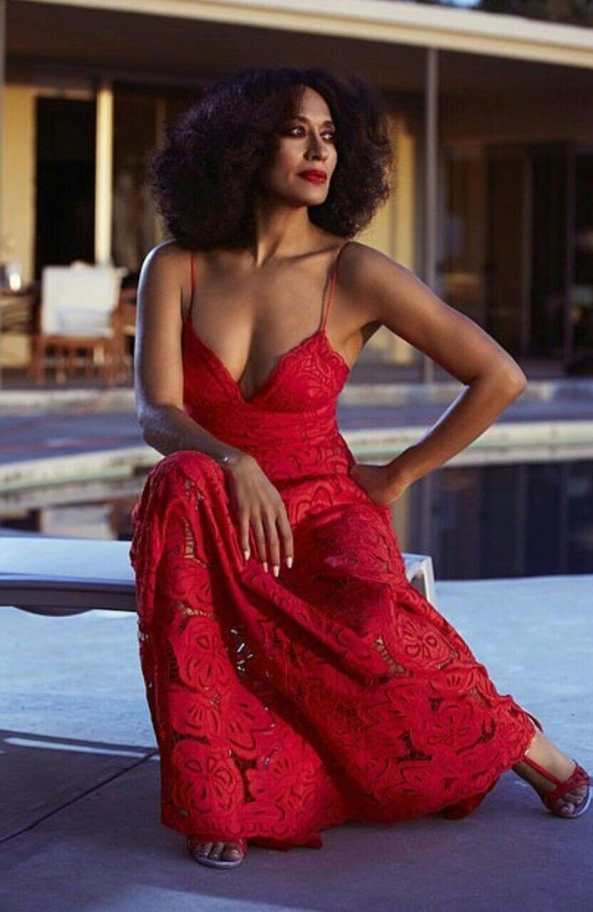 tracee ellis ross cleavage pictures