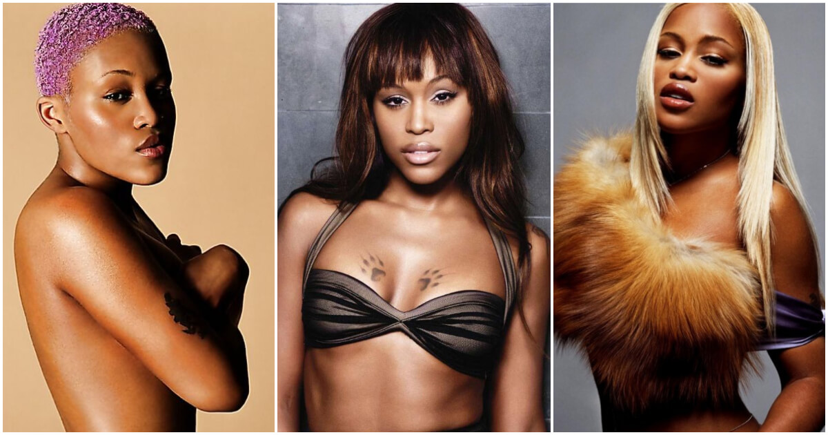 Naked pictures of rapper eve woman