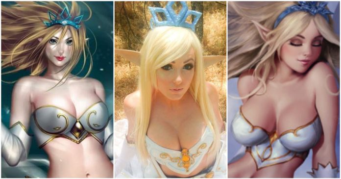 49 Hot Pictures Of Janna From League Of Legends Are Slices Of Heaven