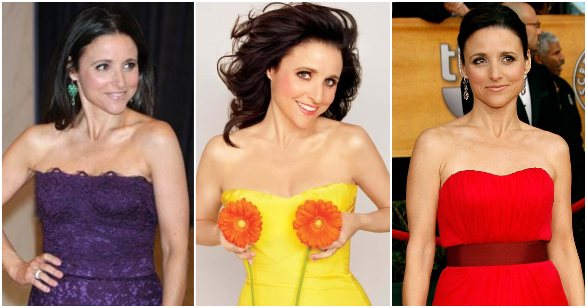 70 Hot Pictures Of Julia Louis Dreyfus Will Make You Fall In Love