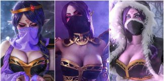 49 Hot Pictures Of Lanaya Templar Assassin From Dota 2 Expose Her Sexy Hour-Glass Figure
