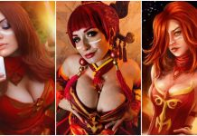 49 Hot Pictures Of Lina From DOTA Which Expose Her Curvy Body