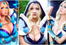 49 Hot Pictures Of Rylai The Crystal Maiden From DOTA Which Are Delight For Fans