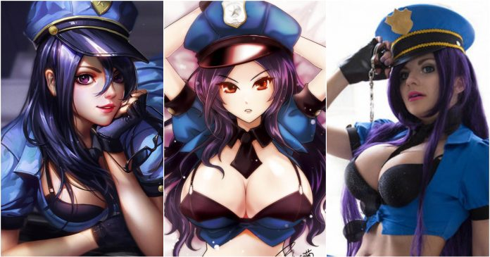 49 Hot Pictures Of Sheriff Caitlyn Which Will Make You Her Biggest League Of Legends Fan