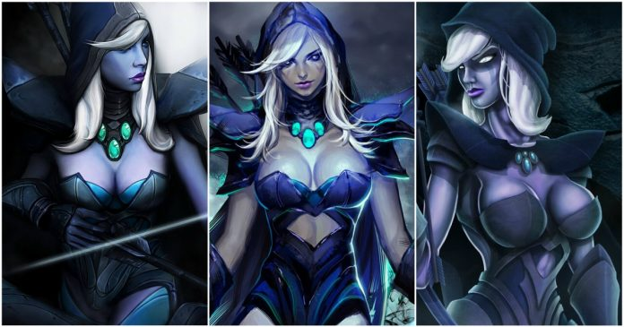 49 Hot Pictures Of Traxex The Drow Ranger From DOTA Which Are Just Too Yum For Her Fans