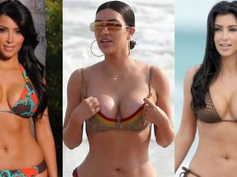 49 Hottest Kim Kardashian Lingerie Pictures Will Make You Drool For Her