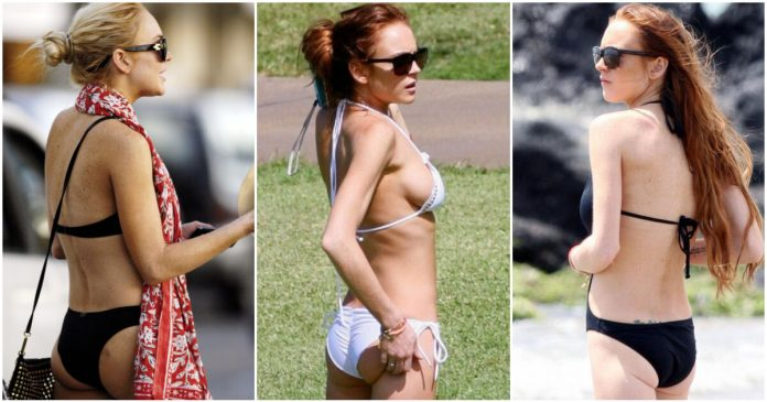 49 Hottest Lindsay Lohan Big Butt Pictures Which Will Make You Feel Sensual