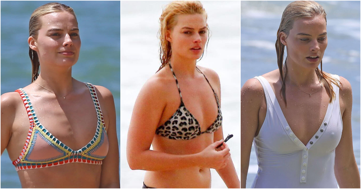 61 Margot Robbie Bikini Pictures Will Expose Her Sexy Hour Glass