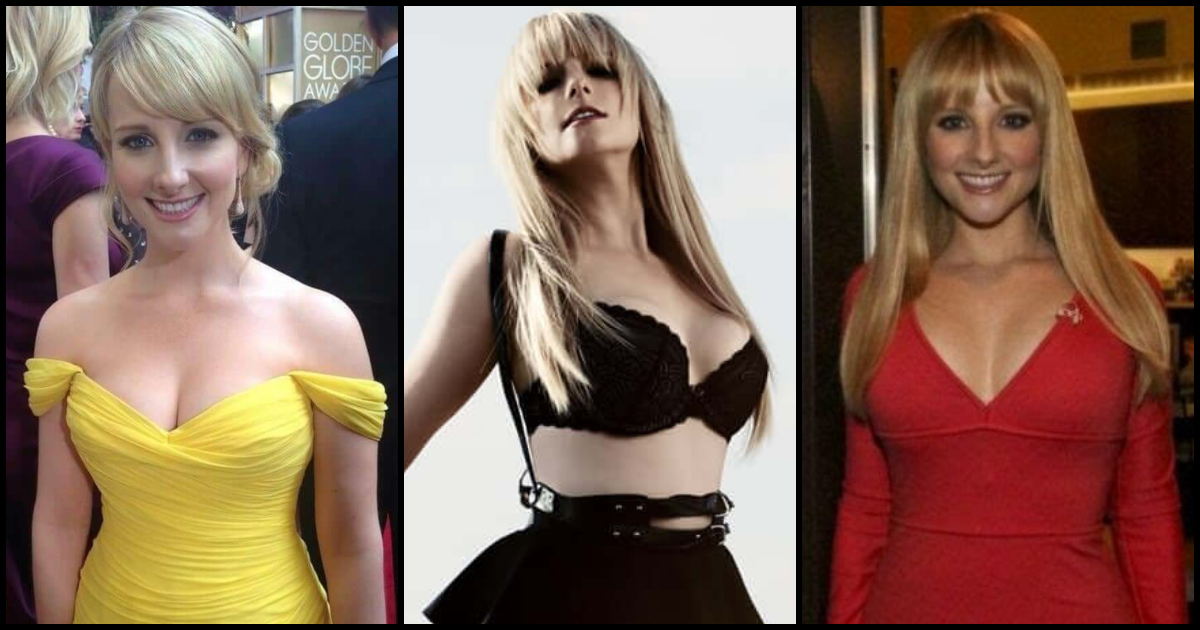Simply magnificent Melissa rauch hands on tits