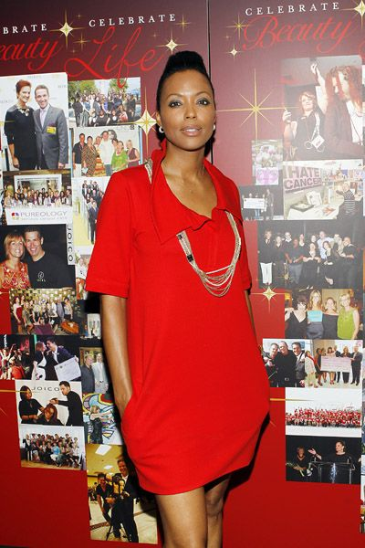 Aisha Tyler Hot in Red Dress