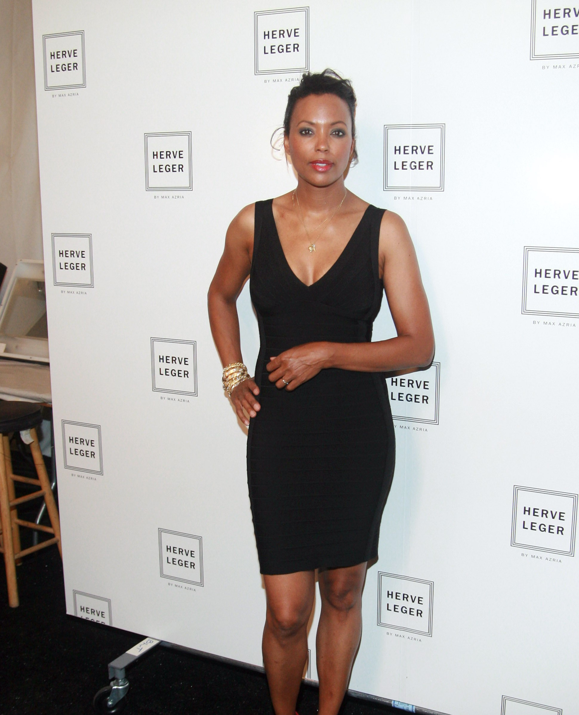 Aisha Tyler Hot in Black