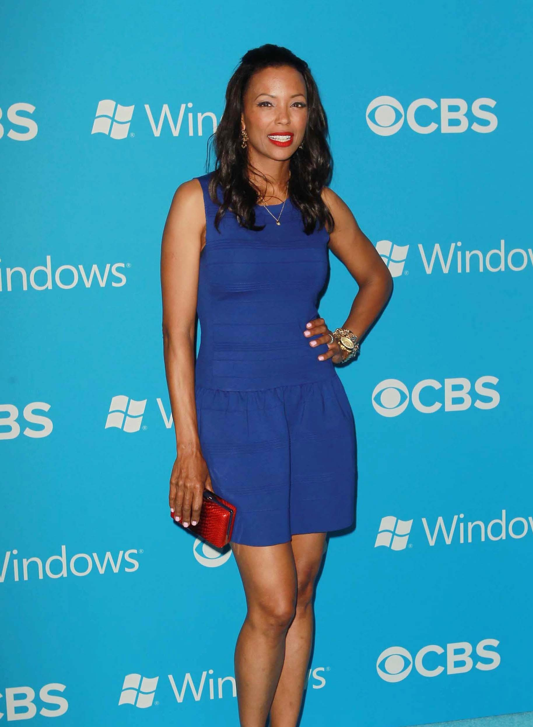 Aisha Tyler Hot in Blue