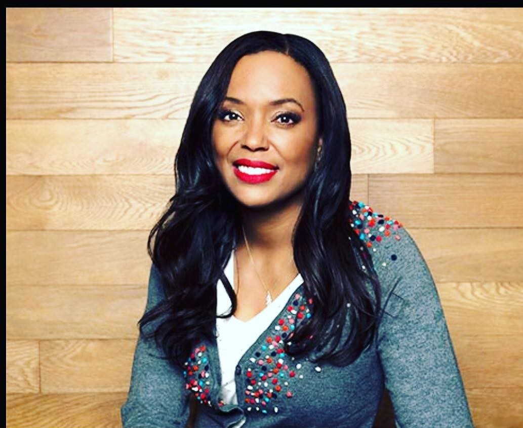 Aisha Tyler Red Lips