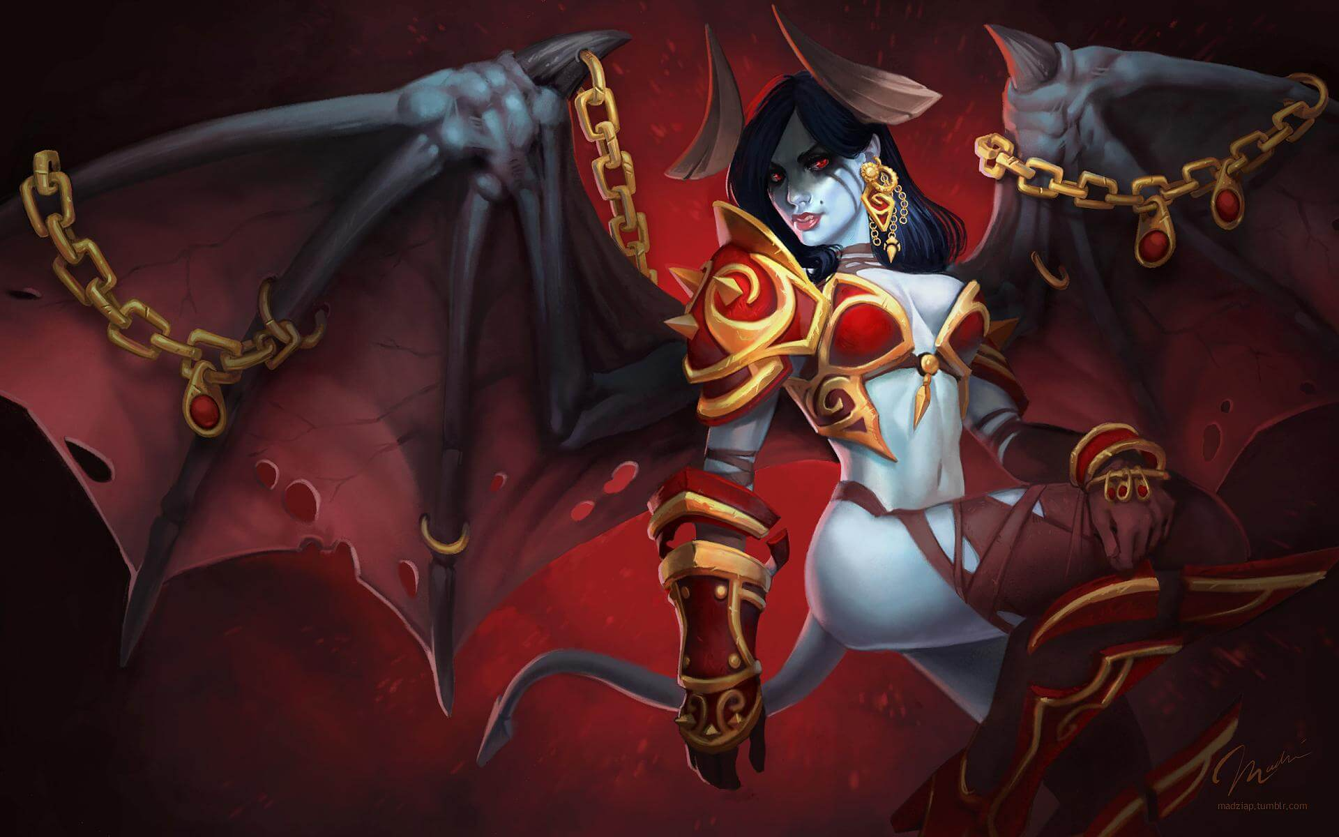 Akasha Queen of Pain awesome pic