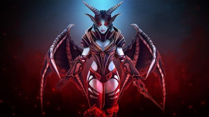 Akasha Queen of Pain awesome