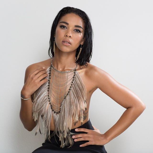 Alexandra Shipp Hot Dress
