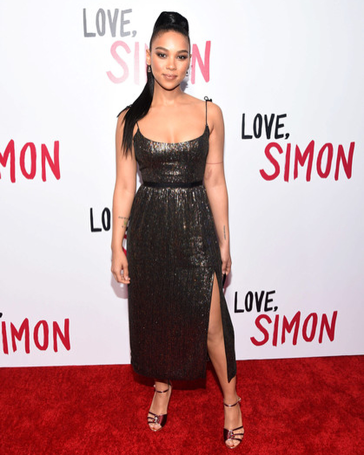 Alexandra Shipp Red Carpet
