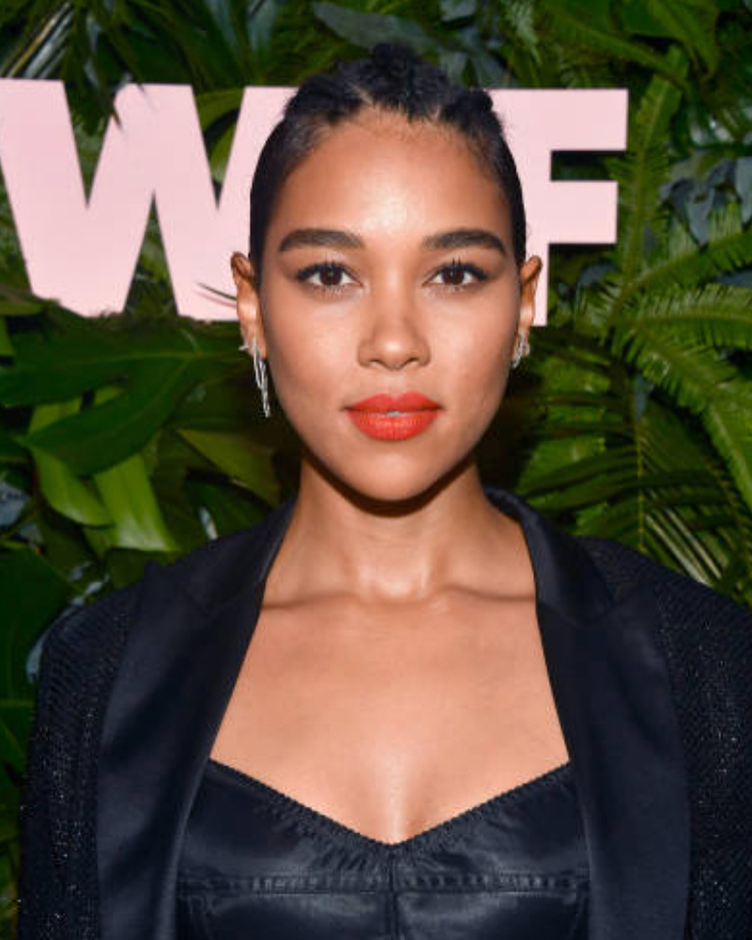 Alexandra Shipp Red Lips