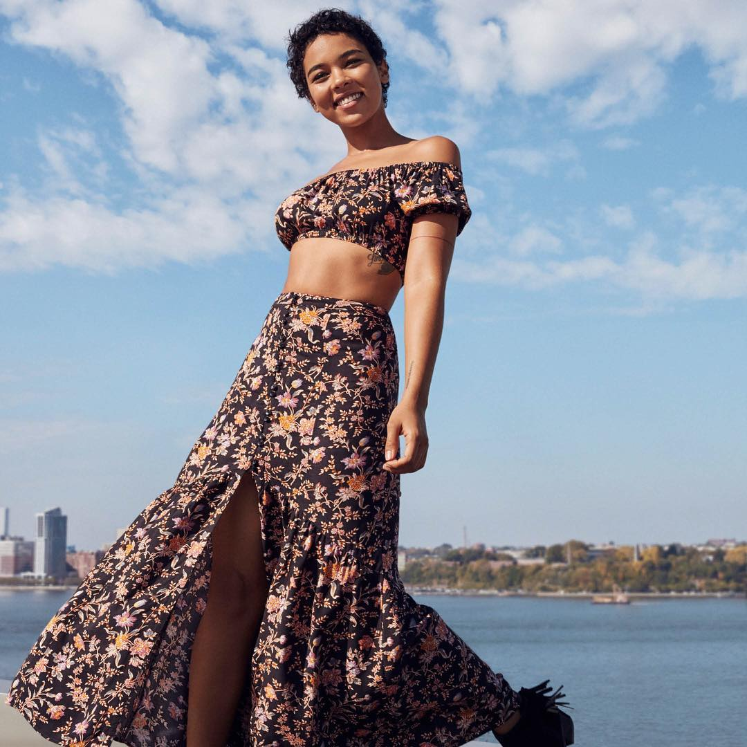 Alexandra Shipp on Photoshoot