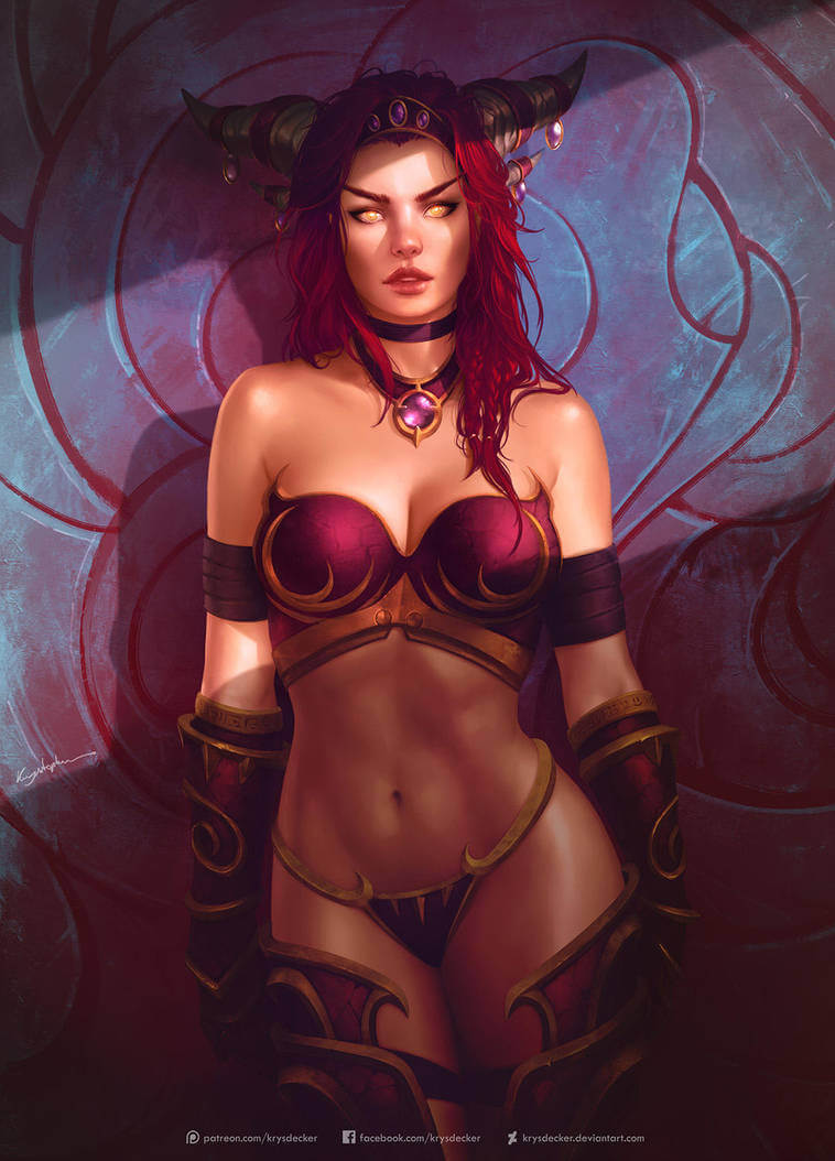 Alexstrasza sexy cleavages pic (2)