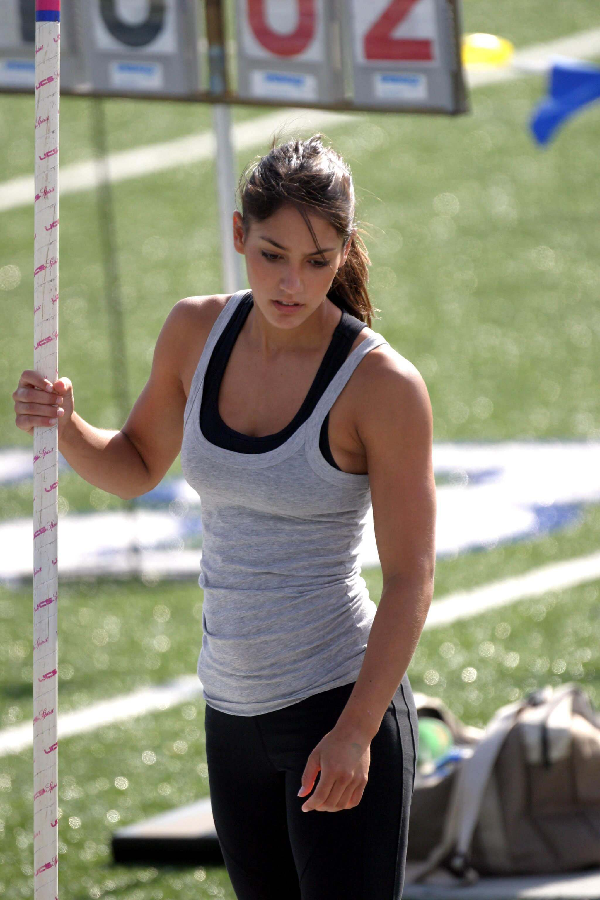 Allison Stokke on Ground