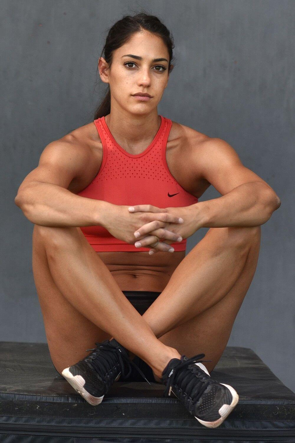 Allison Stokke on Photoshoot