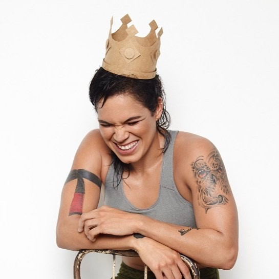 Amanda Nunes Happy