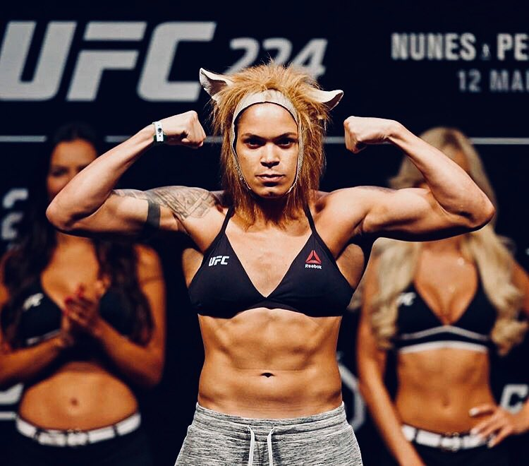 Amanda Nunes Hot in Black Bikini