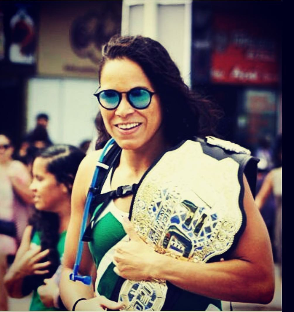 Amanda Nunes Hot in Gaugle