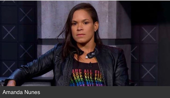 Amanda Nunes Hot in Leather Jacket