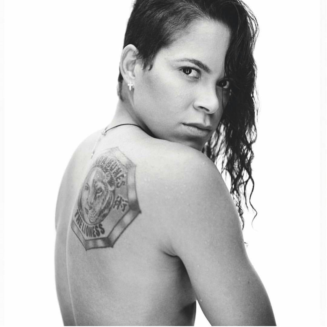 Amanda Nunes on Photoshoot Photo