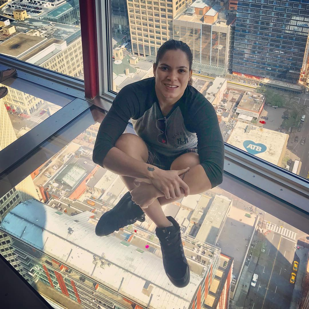 Amanda Nunes on Photoshoot