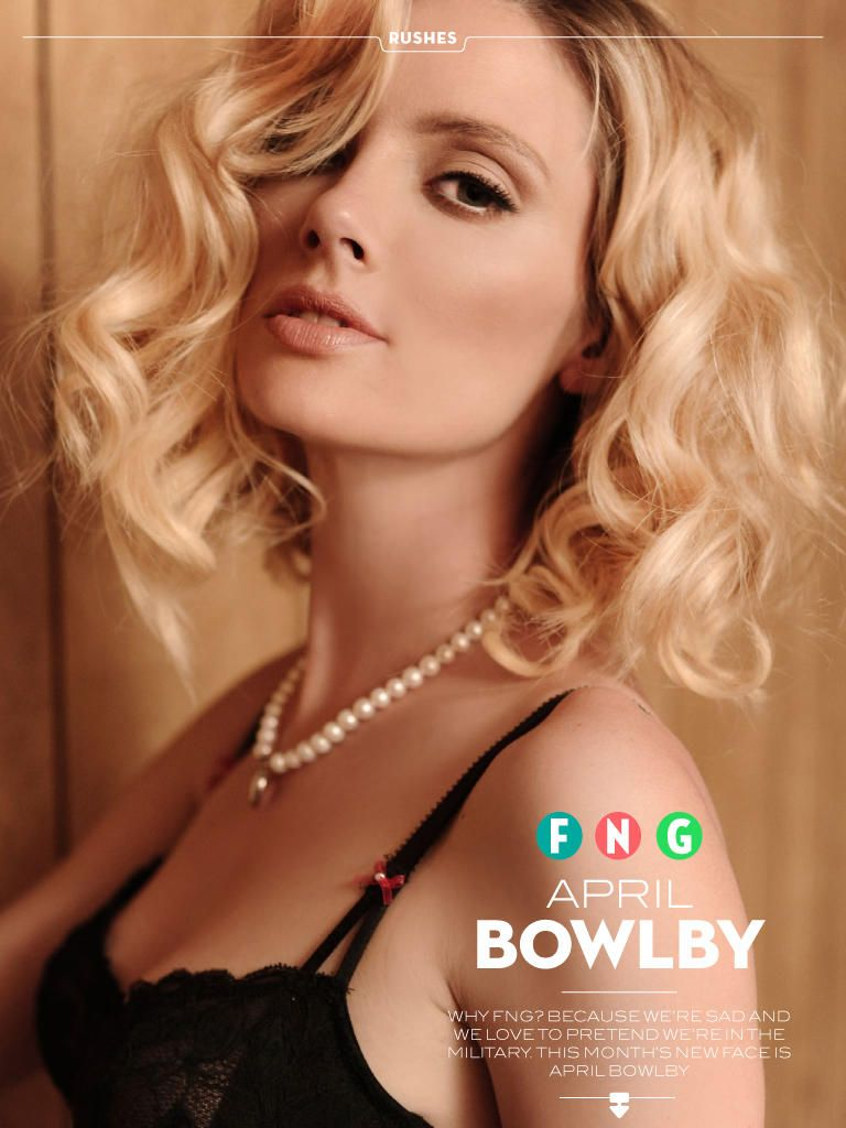 April Bowlby Hot Photoshoot