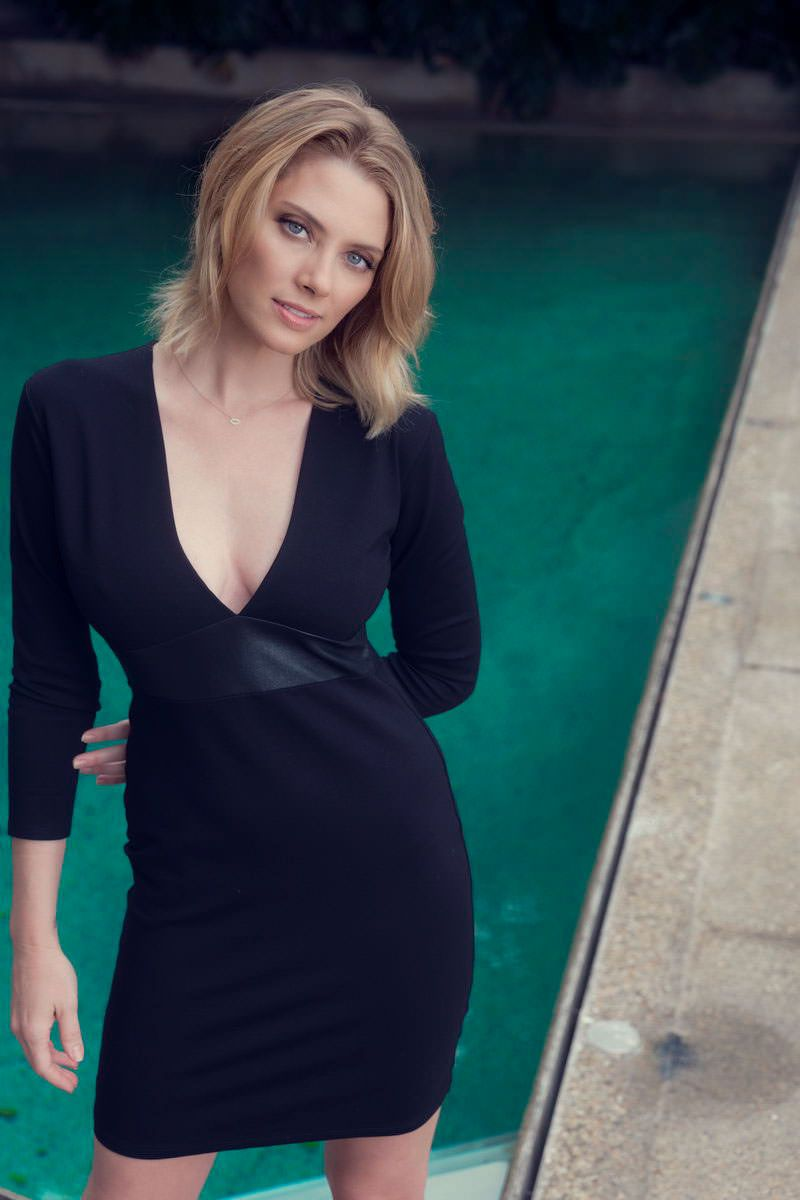 April Bowlby Sexy Dress