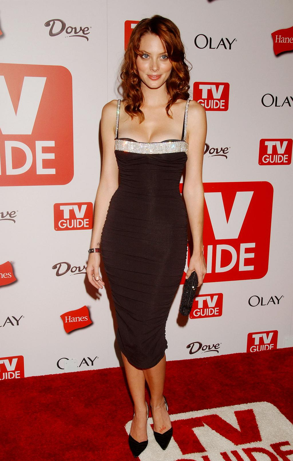 April Bowlby on Red Carpet