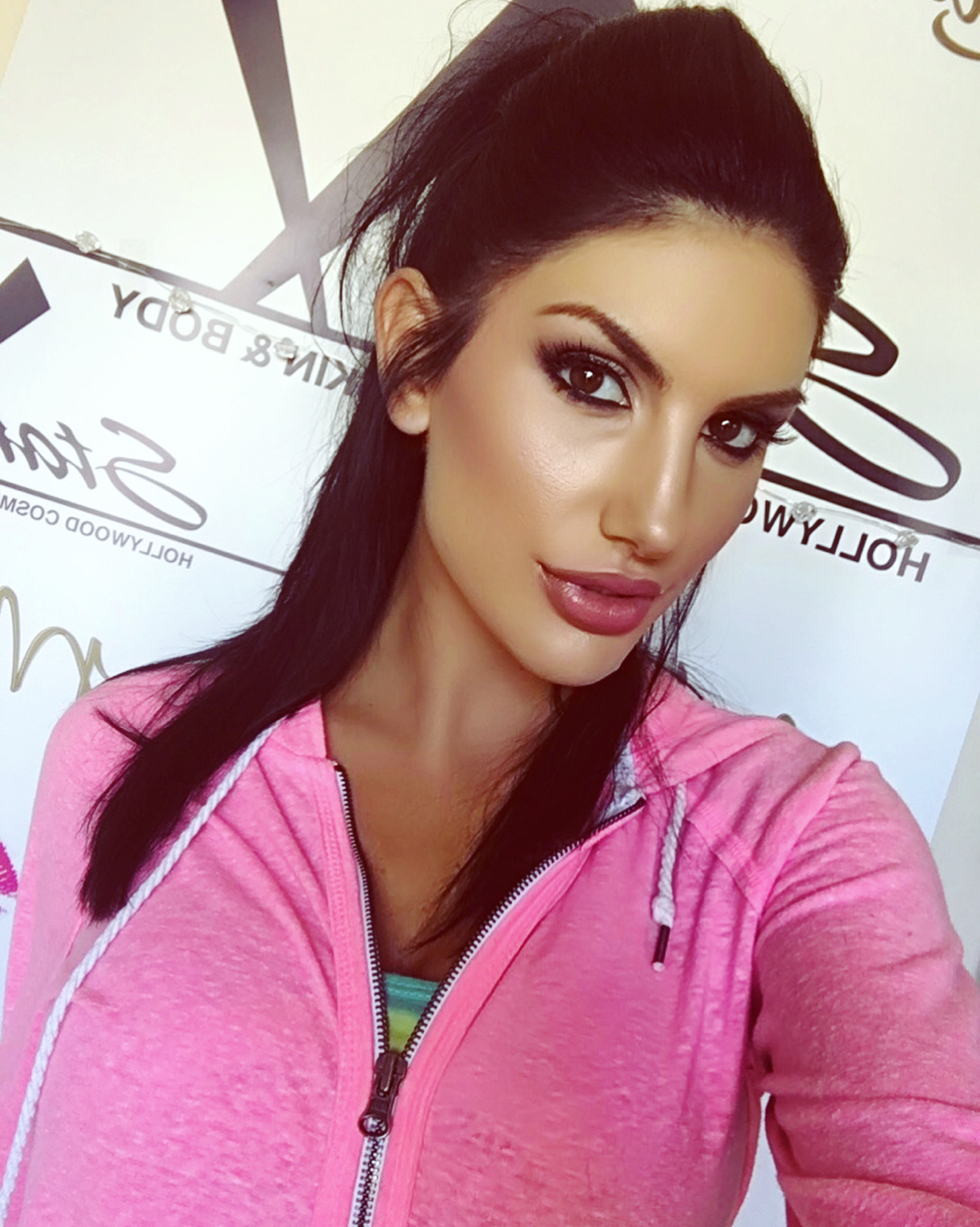 Where does august ames live