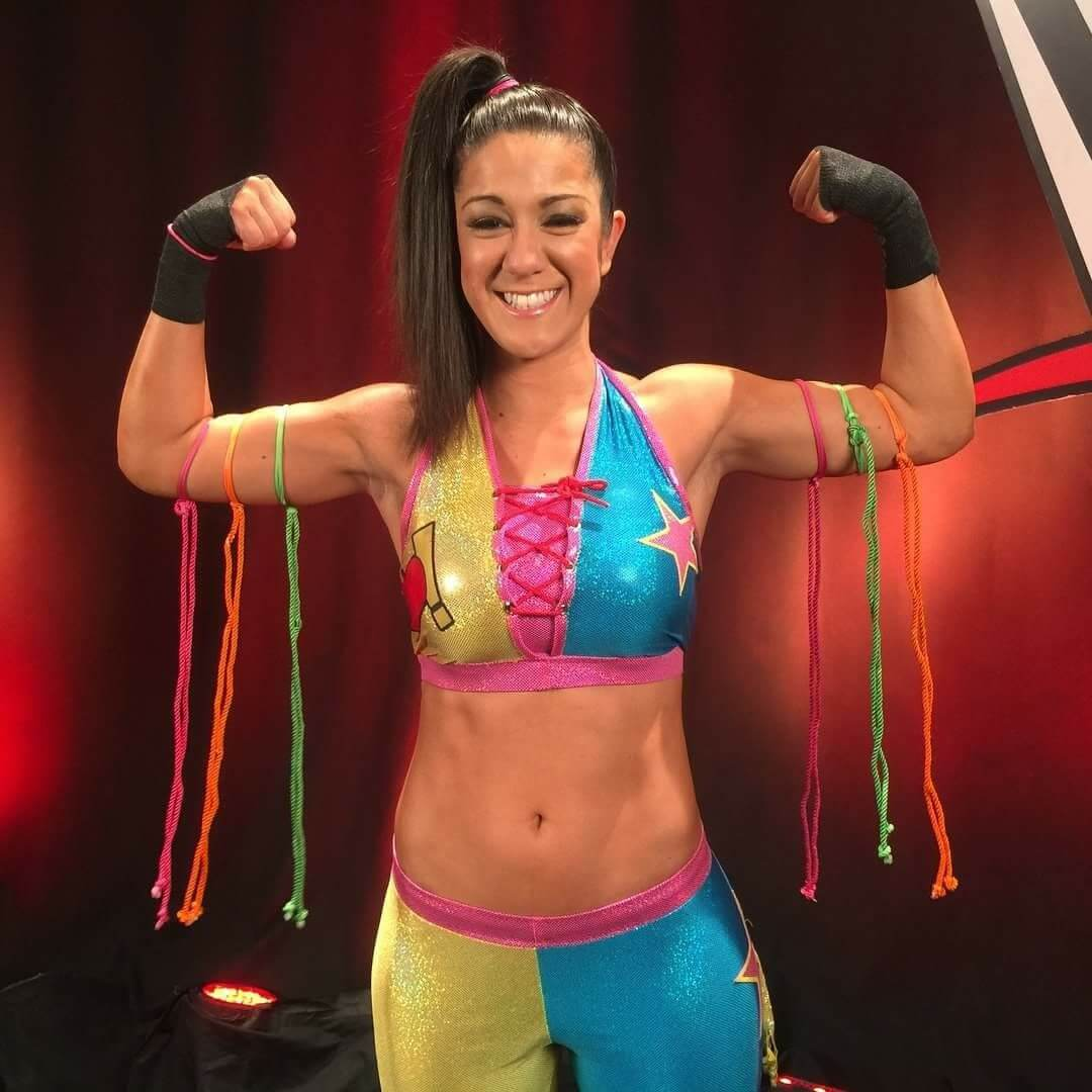 Bayley hot boobs pictures