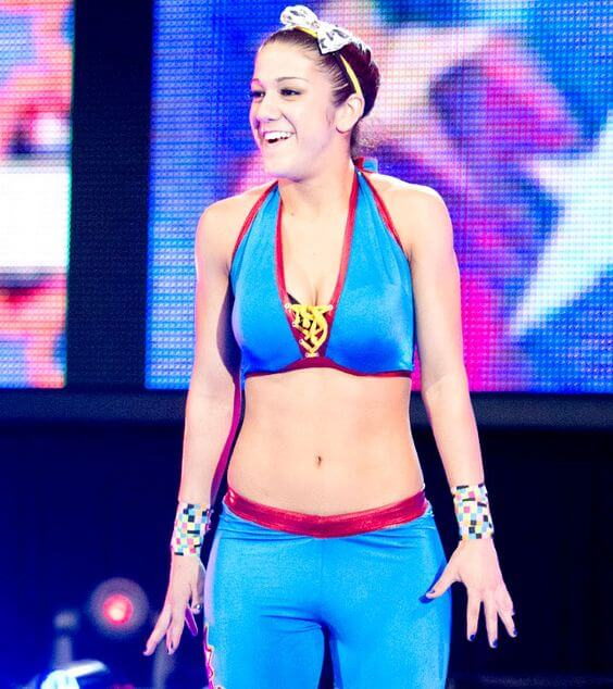 Bayley hot busty pic
