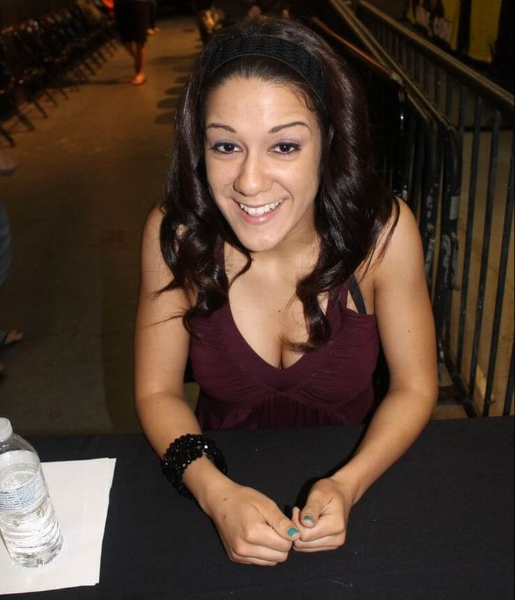 Bayley sexy boobs (2)